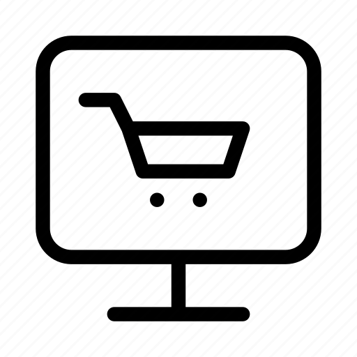 cart, commerce, display, market, shop, supermarket icon