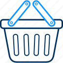 basket, cart, ecommerce, shop, shopping icon