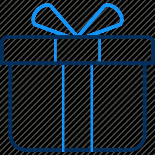 birthday, box, gift, parcel, present icon