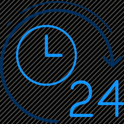 clock, four, schedule, time, timer, twenty, watch icon