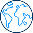global, gps, location, map, world icon