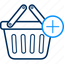 basket, buy, cart, ecommerce icon