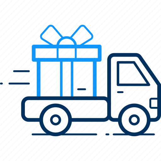 delivery, goods, parcel, truck icon
