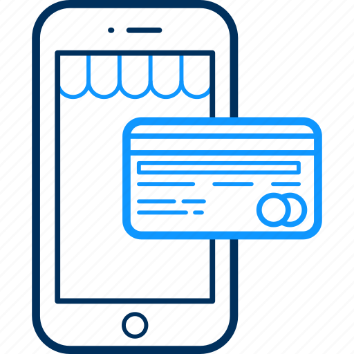 card, mobile, pay, payment, smartphone icon