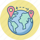 earth, globe, gps, locate, locate us, store, world icon