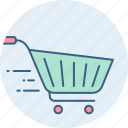 basket, buy, cart, ecommerce, shop, trolley icon