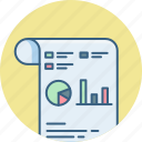 analytics, business, chart, diagram, graph, presentation, statistics icon