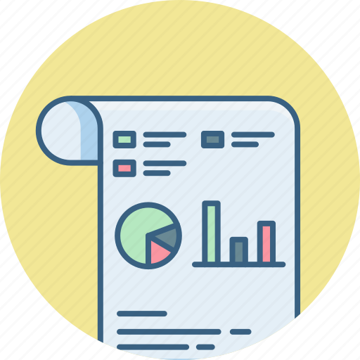 analytics, business, chart, diagram, graph, presentation, statistics icon