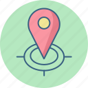 gps, locate, location, locator, map, pointer, store icon