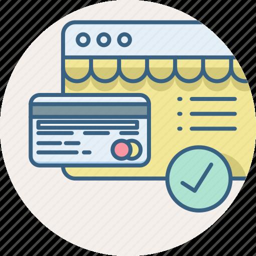 card, credit, debit, money, pay, web, website icon