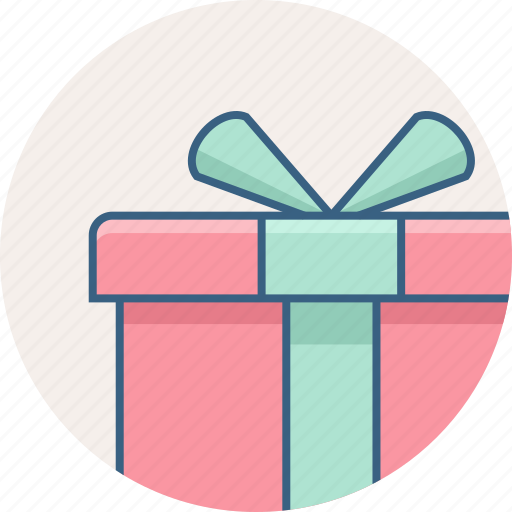 box, gift, package, present, sale, shipping, shop icon