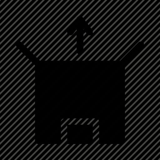 commerce, market, shop, supermarket, unboxing icon