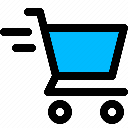 cart, checkout, ecommerce, fast, shopping icon
