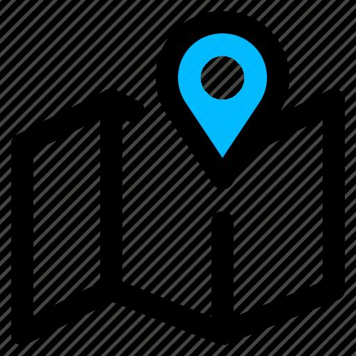 address, gps, location, map, navigation icon