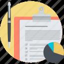 customer, marketing, round, shopping, survey icon
