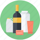 e-commerce, flat design, goods, products, round, sale, shopping icon