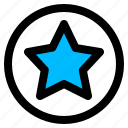 premium, quality, rating icon