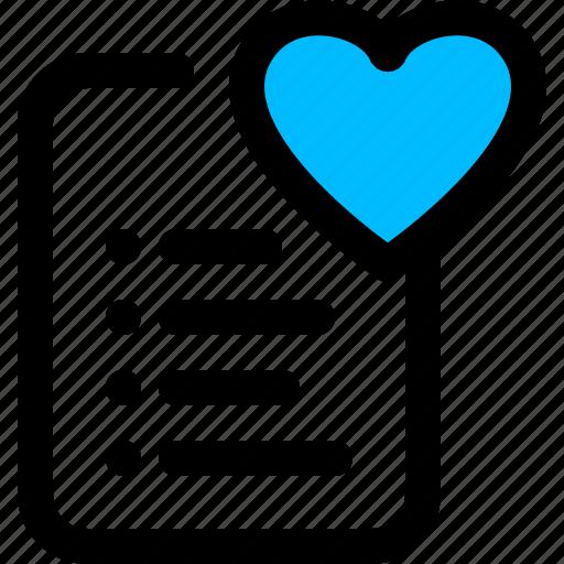 Favorite, heart, like, list, wishlist icon - Download on Iconfinder