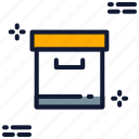 archive, box, container, document, files, package, storage icon icon