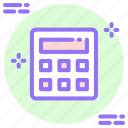 accounting, arithmetic, calculate, calculation, calculator, math, mathematics icon icon