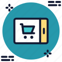 app, application, buy, ecommerce, mobile, online shopping, shopping icon icon