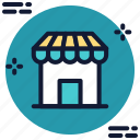 commerce, front, shop, store, store icon icon icon
