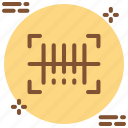 bar, barcode, code, inventory, management, scan, scanner icon icon