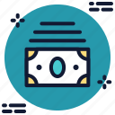 bundle of dollars, bundle of money, dollars, money icon icon