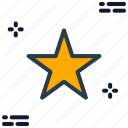 bookmark, favorite, rate, rating, star icon icon
