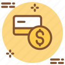 atm, card, credit, currency, debit, dollar, finance icon icon