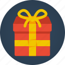 birthday, christmas, gift, offering, present, surprise icon