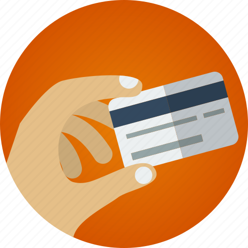 buy, buy online, card, credit card, hand, hand holding credit card, order, order online, pay, purchase, shopping icon