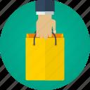 bag, buy, hand, market, order, purchase, shop, shopping, shopping bag, store, supermarket icon