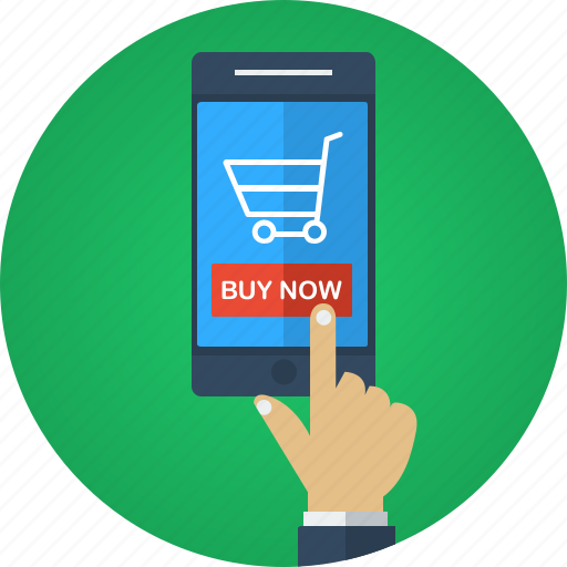 App buy buy now e commerce ecommerce hand mobile for Mobili store online