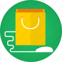 bag, buy, e-commerce, ecommerce, mouse, online shopping, order, purchase, shop, shopping, shopping bag, store, web store icon