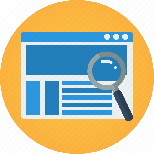 Shopping e commerce by flat icons e commerce ecommerce find find product look for magnifier altavistaventures Images