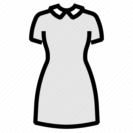 clothes, clothing, dress, womens icon