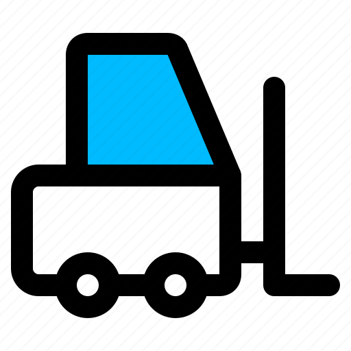 cargo, forklift, mover icon