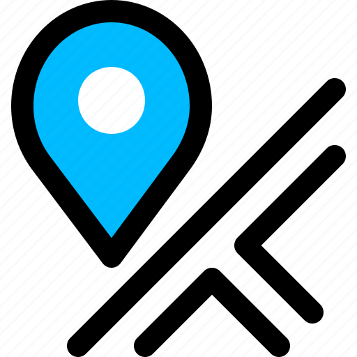 delivery, location, map, marker icon