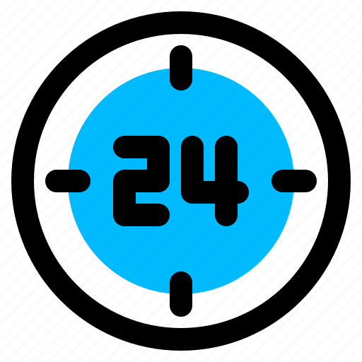 clock, delivery, hours icon