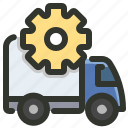delivery, option, settings, shipping icon