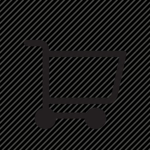 buy, cart, ecommerce, empty bag, mart, shopping icon