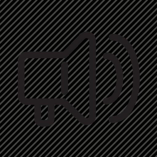 announce, anouncement, broadcast, communication, loud, mega icon
