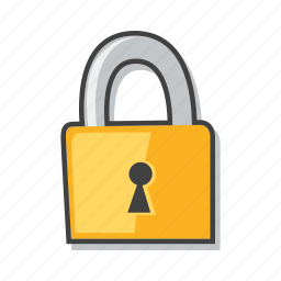 lock, protection, safe shopping, secure payment icon