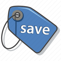 discount, ecommerce, save, shopping icon