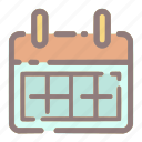 appointment, calendar, event, month, schedule, schedule icon