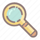find, glass, magnifier, magnifying, online, search, zoom