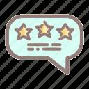 favorite, feedback, rating, review, star