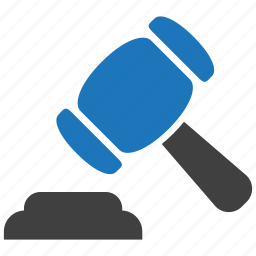acquisition, auction, gavel, hammer, justice, law, sale icon
