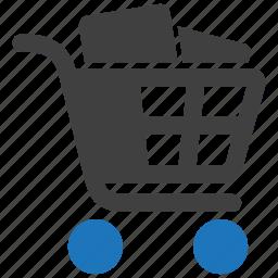 buy, cart, ecommerce, goods, shop, shopping icon